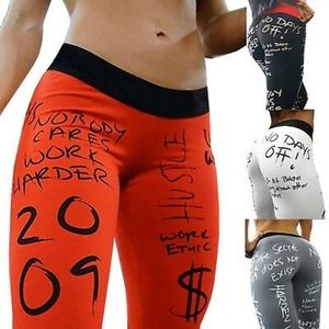 Printed Sports Yoga Pants Fitness Gym Leggings Run